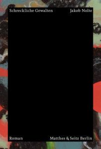 Jakob Nolte: Schreckliche Gewalten Cover