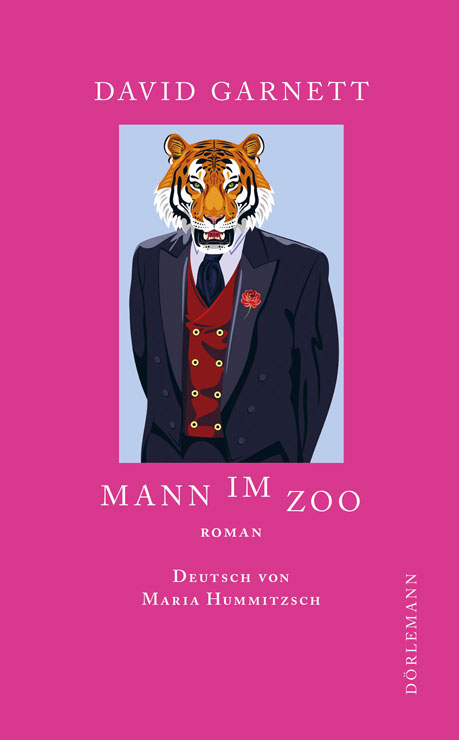 David Garnett: Mann im Zoo Cover