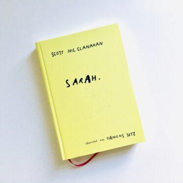 Scott McClanahan: Sarah