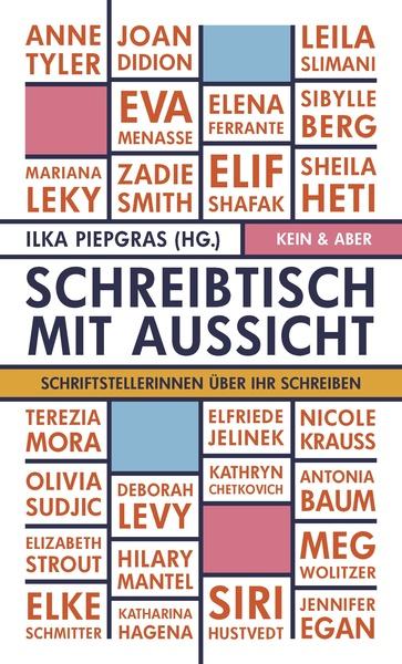 Ilka Piegras (Hg.): Schreibtisch mit Aussicht (Cover)